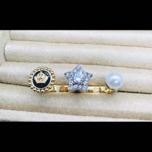 New Juicy Couture Double Ring